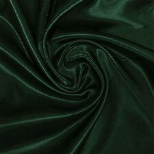 1.5 Meters 95%silk, 5% Spandex Stretch Silk Satin Charmeuse Fabric Hunter Green