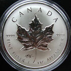 *LIMITED* Canada 1 oz Silver PROOF Coin - Maple Leaf Money Fair Privy Mark 2014