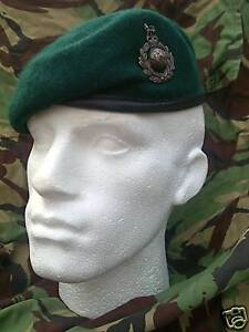 ROYAL MARINES BERET AND BRONZE CAP BADGE (NEW) All Sizes Available