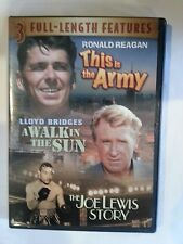 This is the Army DVD A Walk in The Sun The Joe Lewis Story