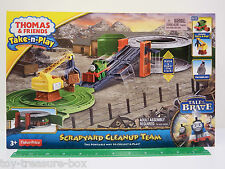 """Thomas & Friends Take-n-Play Portable Playset """"SCRAPYARD CLEANUP TEAM"""" Ages 3+"""
