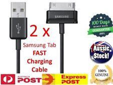 "2x Premium Sync Data Charging Cable  Samsung Galaxy Tab 2 7"" 7.7"" 8.9"" 10.1"" 1M"