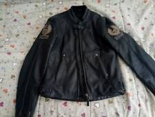 BELSTAFF LEATHER FILM JACKET MOTORCYCLE Size M RARE GENUINE Excellent condition