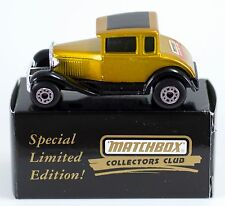 Matchbox Collectors Club Promo Model A Ford New in Box Limited Edition