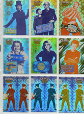 Charlie And The Chocolate Factory - 9-card Retail Foil Chase Set NM Artbox