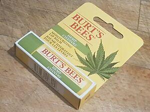 Burt's Bees HEMP Moisturing Lip Balm 100% Natural 4.2g