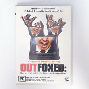 Out Foxed Movie DVD Region 4 AUS Free Postage - Drama Rupert Murdoch