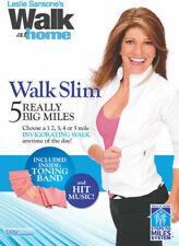 Leslie Sansone's Walk Slim 5 Really Big Miles Sansones Five Region 4 DVD