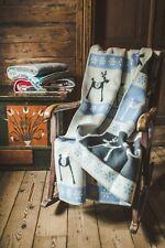 Blanket Xmas Throw Bed Sofa Fleece Cozy Plaid Soft Warm 100% Wool Christmas Gift