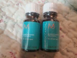 Sealed Moroccan oil Morrocanoil Hair Treatment 0.34oz/10ml Travel Size exp 03/22