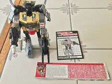 Vintage 1984 G1 Hasbro Takara Transformers Dinobot Grimlock w/Weapons