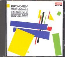 PROKOFIEV - Symphony 2 / Romeo & Juliet Suite1 - Neeme JARVI - Chandos NEW
