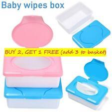 Plastic Dry Wet Tissue Paper Case Baby Wipes Napkin Storage Box Holder Container