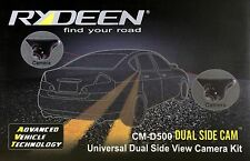 NEW Rydeen CM-D500 Dual Side Cam, Universal Dual Side View Camera Kit