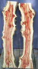 Red Fame Box Elder lumber wood craft art