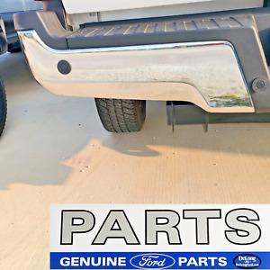 17 - 20 NEW Ford Super Duty OEM Left Rear Chrome Step Bumper with Backup Sensors