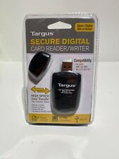 Targus Secure Digital Card Reader Writer USB High Speed For PC MAC - NEW S1