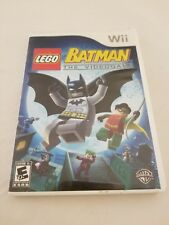 WII BATMAN THE VIDEO GAME LEGO COMPLETE VERY GOOD - FREE SHIPPING