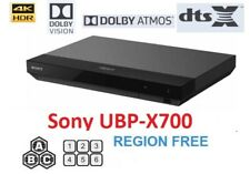 Sony UBP-X700 REGION FREE BLU-RAY DVD PLAYER ZONE A B C DVD 0-9 Dolby Vision