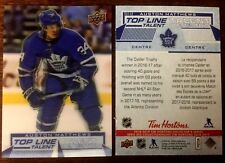 2018/19 18-19  Tim Hortons  TOP LINE TALENT AUSTON MATTHEWS TLT 12 *L@@K*MINT