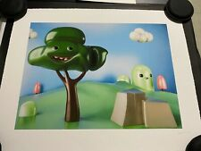 Cesar Piette 'Smiling Tree' Giclee Print Moosey Art Signed & Numbered #/50