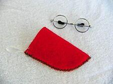 American Girl Molly's glasses & handmade case Similar To Harry Potter's