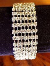 silver lady.s  CZ Tennis Bracelet,