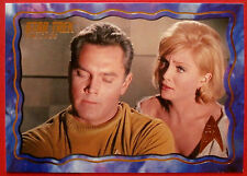 """Star Trek Tos 50th Anniversary - """"The Cage"""" - Gold Foil Chase Card #55"""