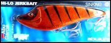 VINTAGE ABU HI-LO JERKBAIT SINKING 15 cm 68 g (2-2/5 oz) Gold Tiger colour