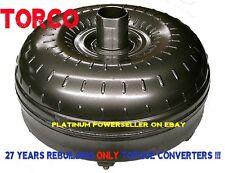 Ford E4OD 4R100 4 studs Triple Clutch-Heavy Duty Torque Converter 1 yr warranty