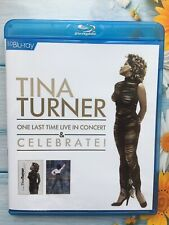 Tina Turner One Last Time Live in Concert and Celebrate (Blu ray New)