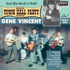 090771515810 Live at Town Hall Party 1958 & 1959 by Gene Vincent Vinyl Album
