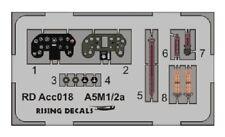 Rising Decals ACC018 1/72 PE Mitsubishi A5M1/A5M3a Claude Panel de Instrumentos Avi