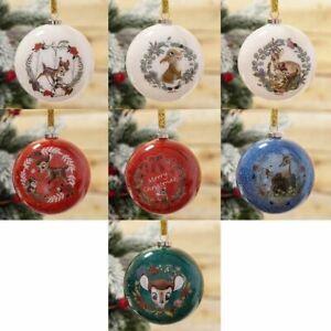 Disney Christmas Glitter Bauble Set of 7 - Bambi