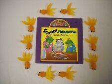 Vintage Scoop! Fishbowl Fun Simple Addition Paperback & 10 Rubber Goldfish Set