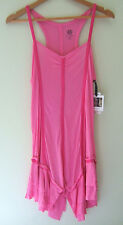 NWT Jessica Simpson Sexy Corset Inspired Short Nightgown Pink Nightie M $64