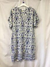 Next Linen Mix Dress Size 14