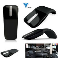 2.4GHz Wireless Optical ArcTouch Mouse Mice With USB Receiver For PC Laptop