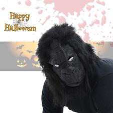 Latex Full Face Ape Mask SCARY Gorilla Animal Halloween Cosplay Fancy Dress