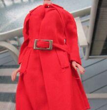 Vintage Barbie Doll Red For Rain Set #3409 Mod 1971 Coat Belt