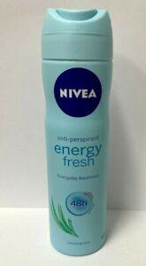 NIVEA ENERGY FRESH DEODORANT ANTIPERSPIRANT 48 hour for women SPRAY 150 ml