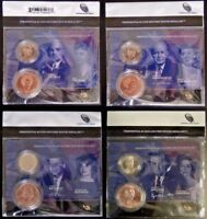 ALL 4 2015 $1 PRESIDENTIAL COIN & FIRST SPOUSE LADY MEDAL SET US MINT NEW SEALED