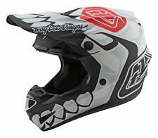 TLD 2020 Youth SE4 Polyacrylite Motocross Helmet Skully White Troy Lee Designs