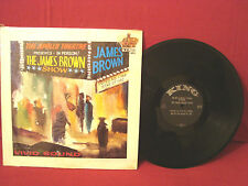 VERY RARE SOUL THE JAMES BROWN SHOW 1ST PRESS # K12 826-A-1/B-1 BLACK KING LABEL
