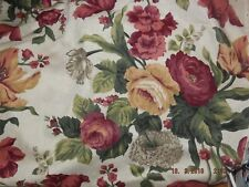 From the bolt cotton linen floral decorator fabric 3 yards 60 wide Printmaster