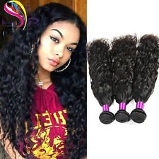 7A Brazilian Natural Curly Weave Virgin Human Hair Extensions with 4x4 closure