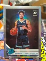 2019-20  Optic Brandon Clarke SILVER HOLO PRIZM RC RATED ROOKIE SP GRIZZLIES