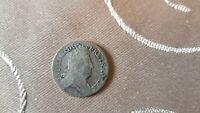 Frankreich Historische Münze Ludwig XIV. 10 Sols 1707