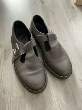 Grey Mary Jane Dr Martens Size 4