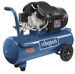 "Scheppach Kompressor HC53dc   412 l/min.  10 bar  230 V   ""Neuheit"""